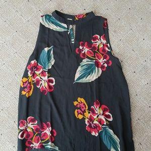 Loft Floral Dress Halter